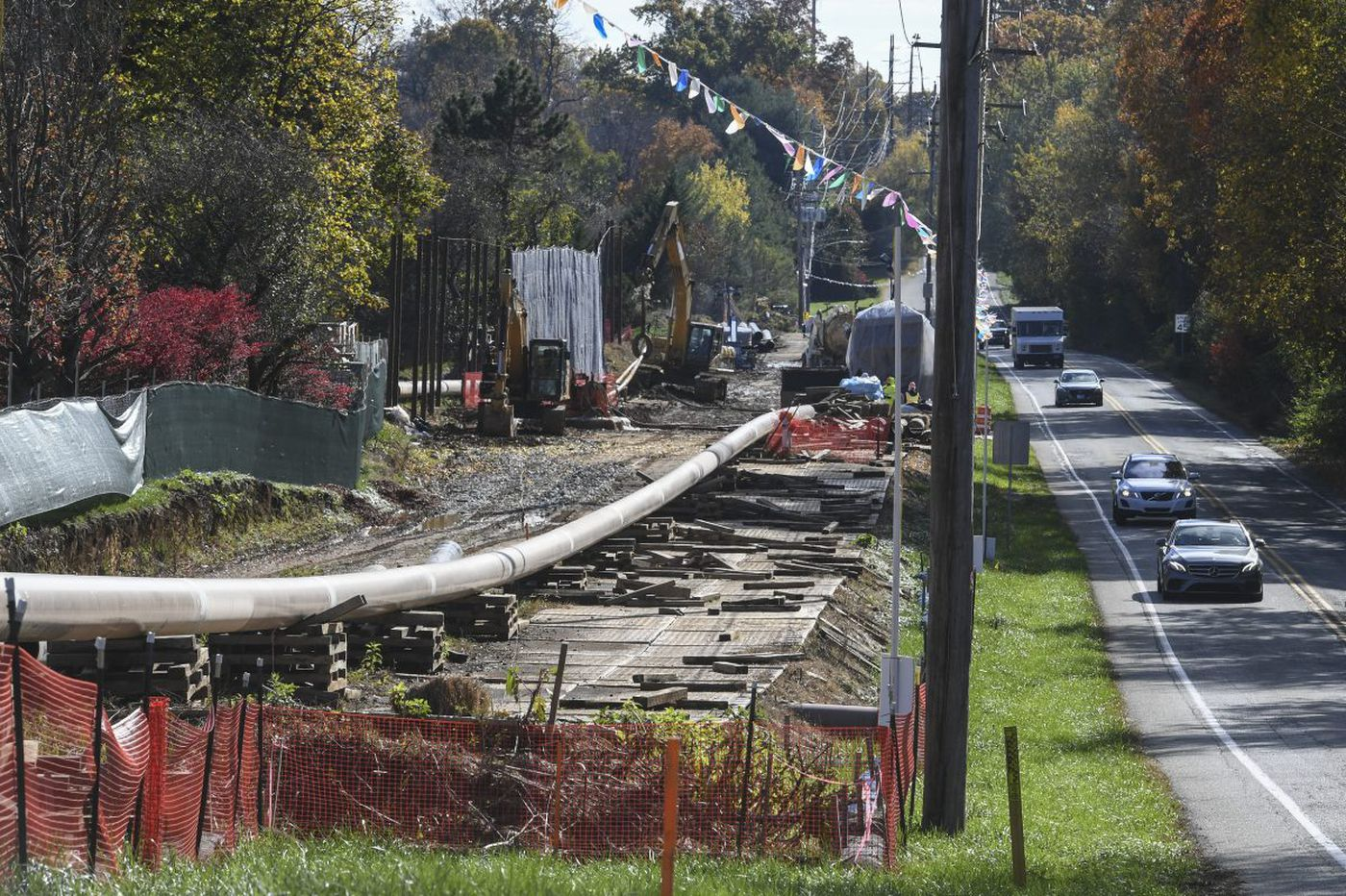 Sunoco resolves pipeline dispute by making a contentious valve station disappear