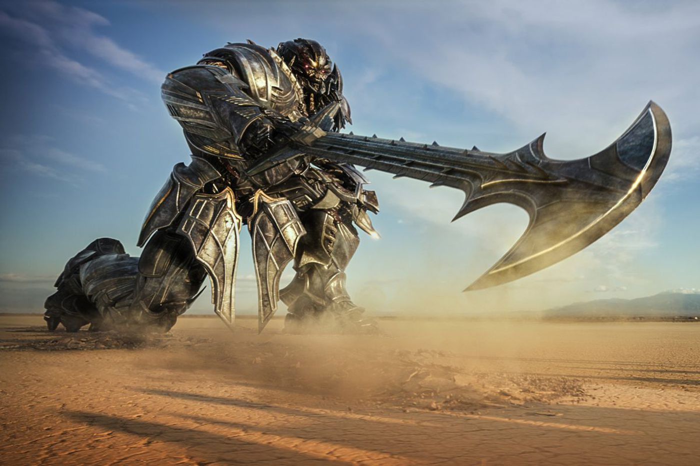 About 'Last Knight': Latest 'Transformers' movie a bit robotic