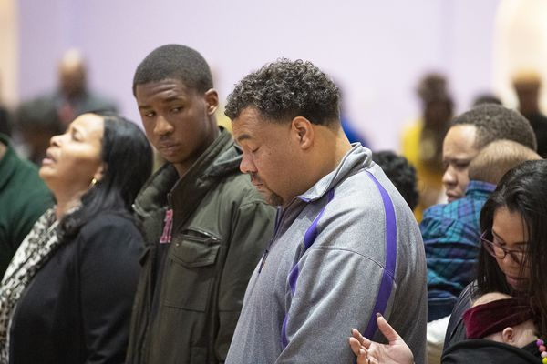 Camden community gathers in solidarity and support after shooting at Camden-Pleasantville football game