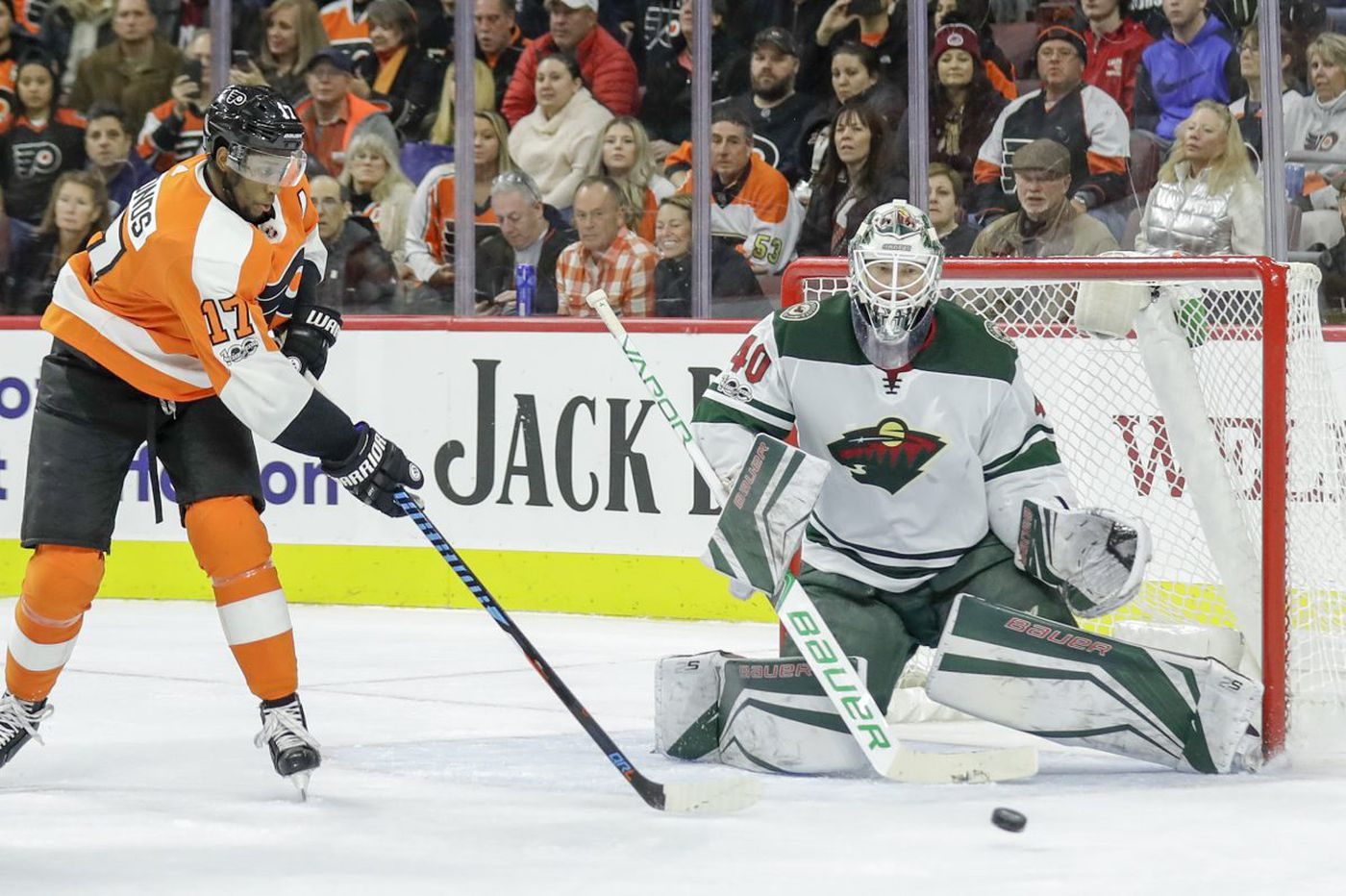 Wild beat sleepy Flyers, 1-0