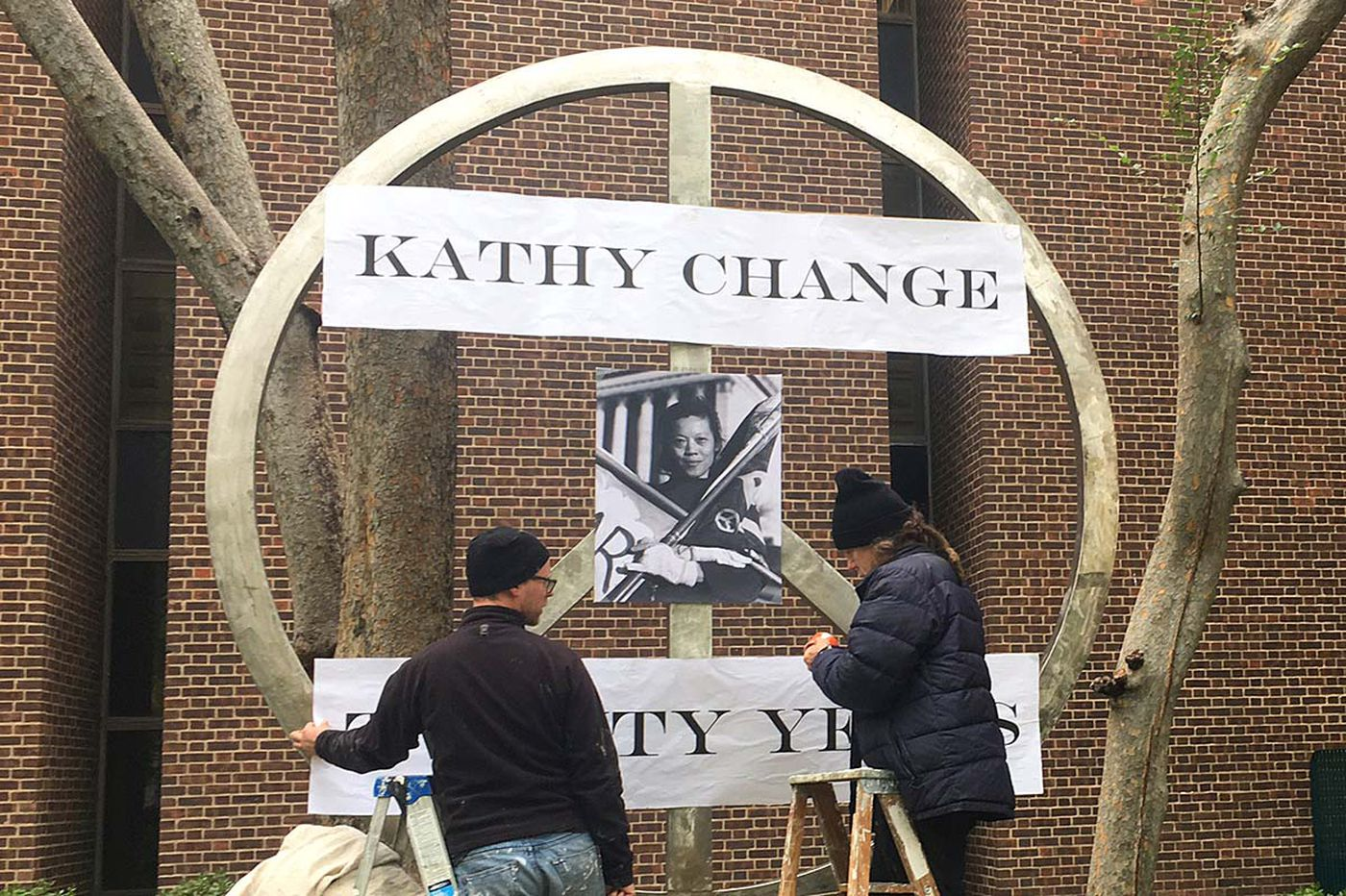 Activist Kathy Chang, who set herself afire 20 years ago, remembered at Penn