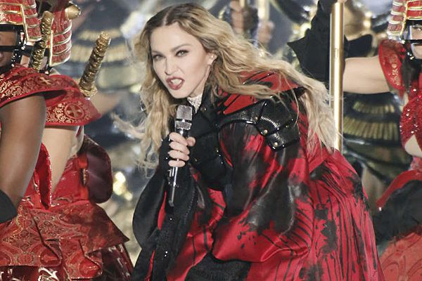 Madonna, still irreverent but without the fire