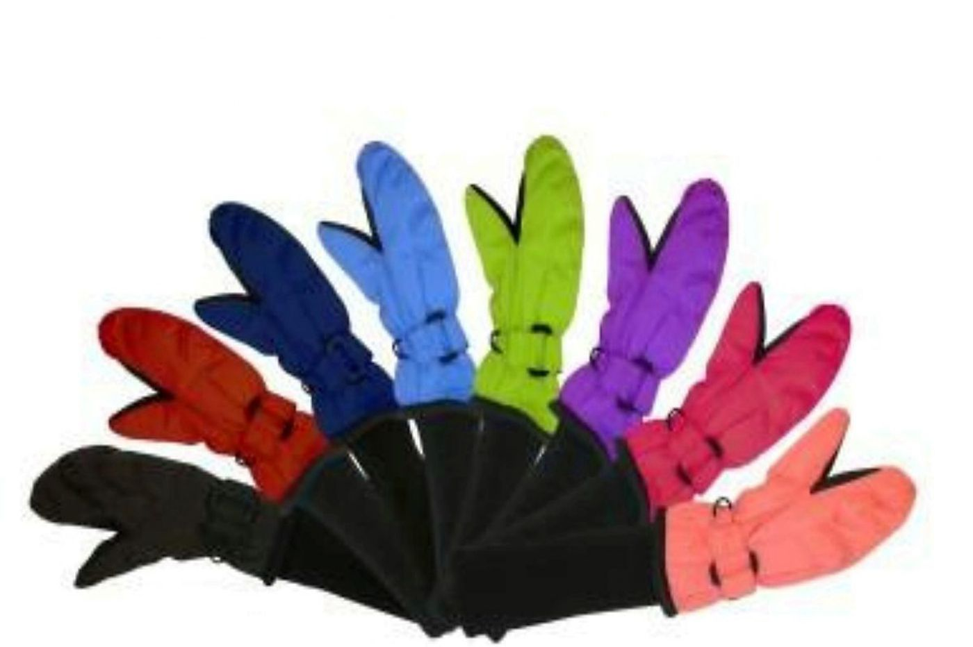 SnowStoppers Nylon Mittens for Kids