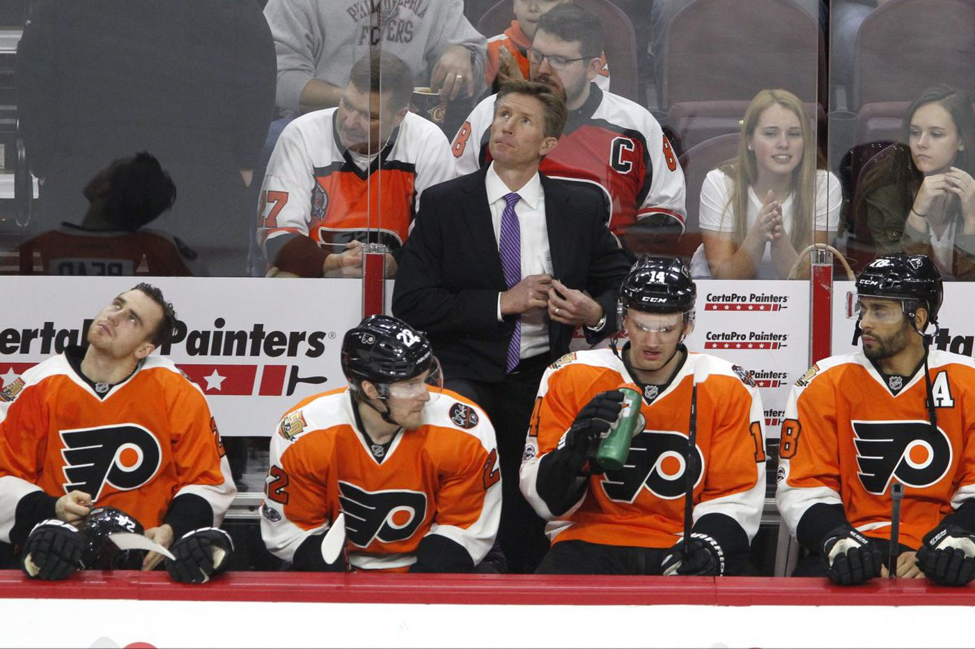 Flyers finding that character does not equate to consistency