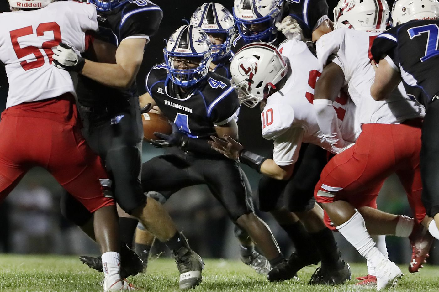 South Jersey Football Rankings: No. 1 Lenape, No. 3 Williamstown close on epic rematch