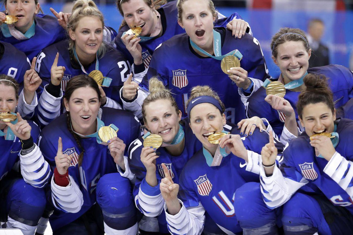 U.S. women's Olympic hockey stars tied to World Cup soccer legends by Philadelphia lawyer