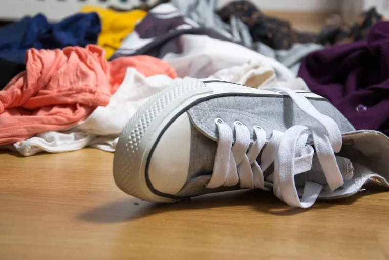 People resort to creating piles on the floor for several reasons. Either they have too much of something and no room to adequately store the overflow, or they have adequate space, but it's too disorganized to use properly.