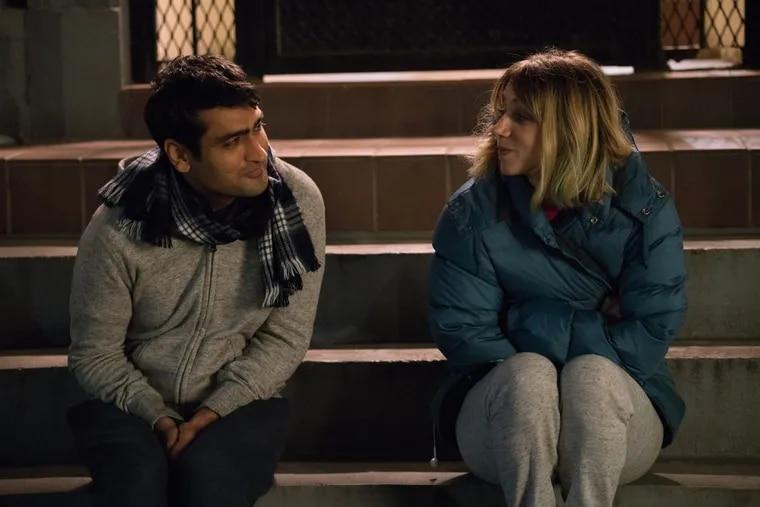 Kumail Nanjiani  and Zoe Kazan in 'The Big Sick.'