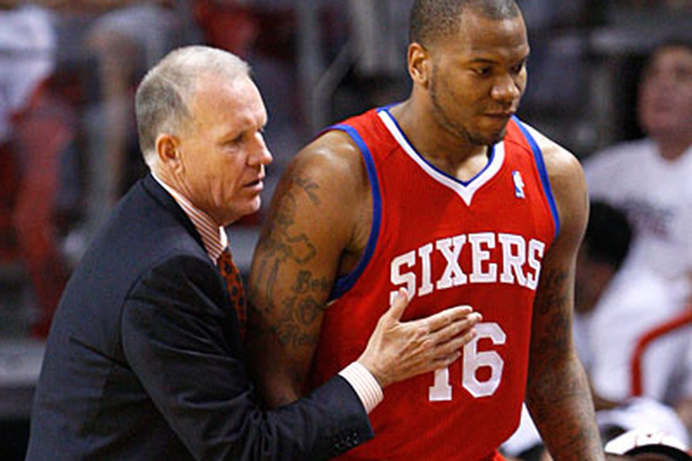Sixers looking for more from Speights