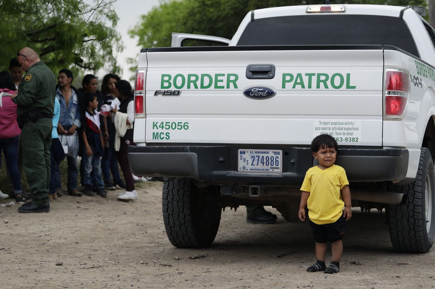 Desperate migrant families overwhelm US border agencies