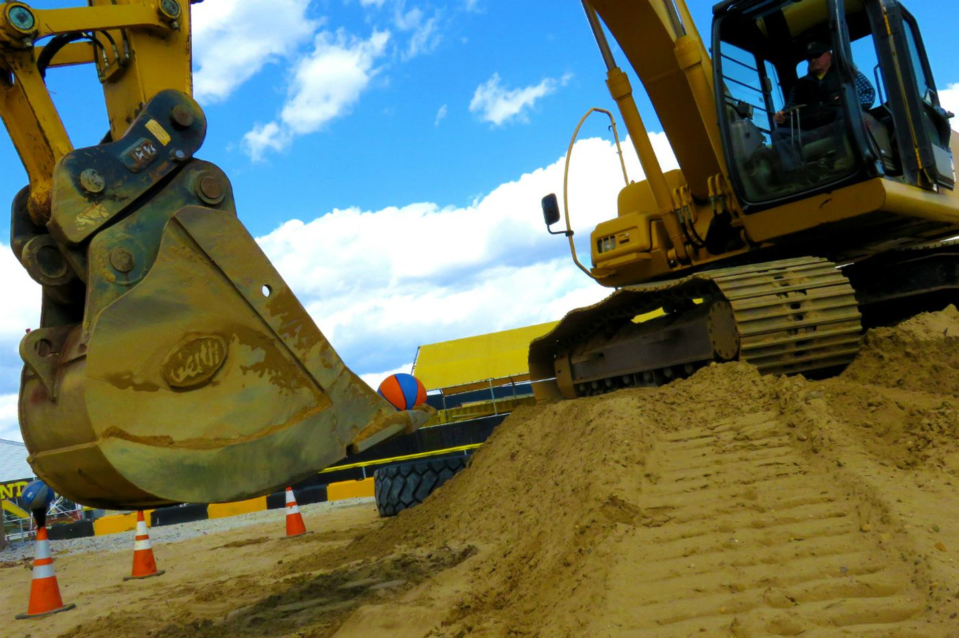 Diggerland XL gives grown-ups a chance to play with construction equipment