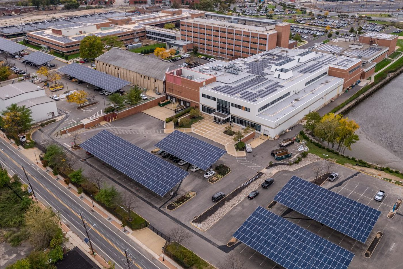 Sprawling Campbell Soup solar project goes online in Camden