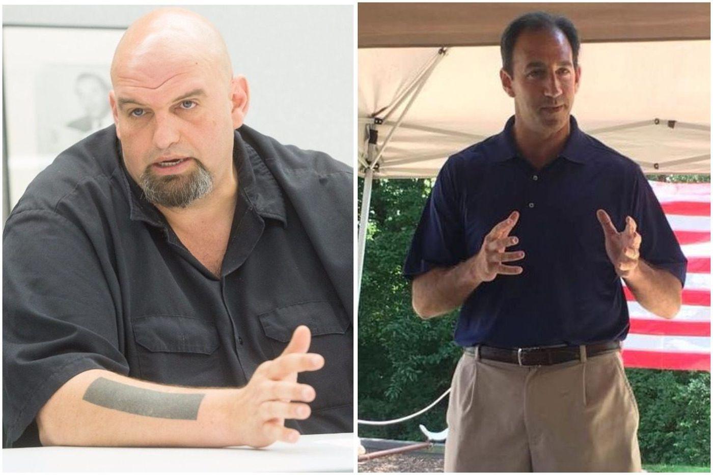 For Pa. lieutenant governor: Democrat John Fetterman; Republican Jeff Bartos | Endorsement
