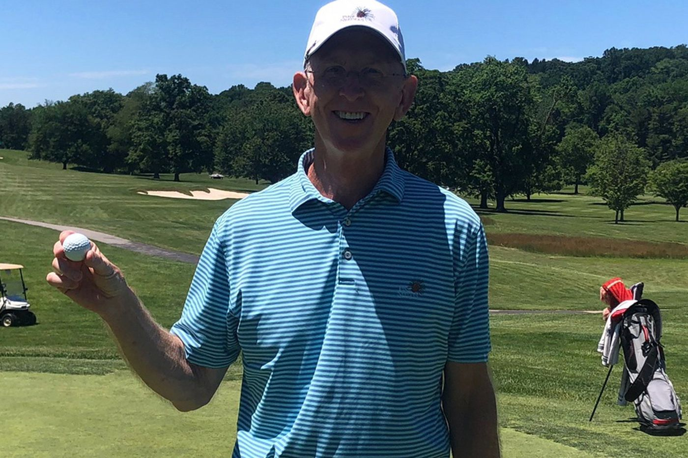 Fort Washington man makes two holes-in-one in the same round at Manufacturers