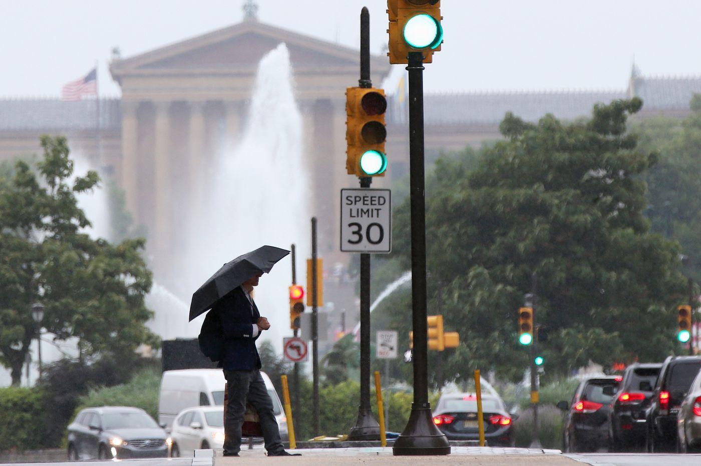 Rain, rain, and Wednesday might be rainier; flood watches continue