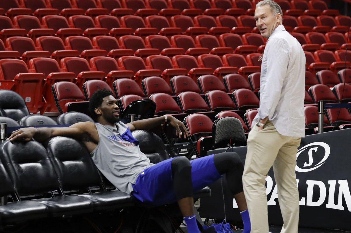 Bryan Colangelo social media reaction: Joel Embiid, NBA Twitter react to the Ringer's report