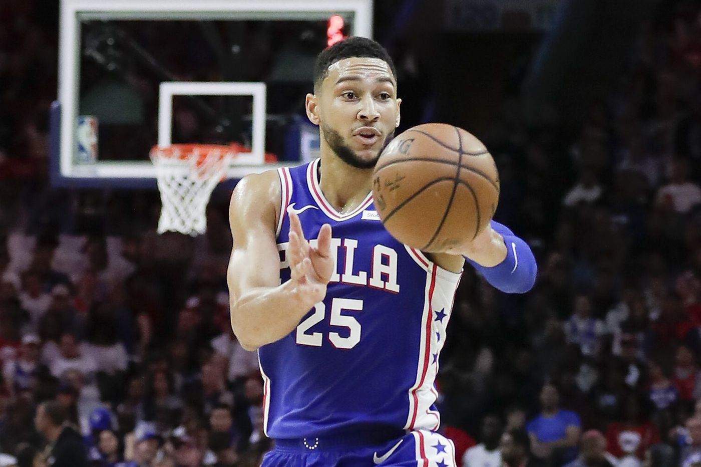 Sixers' Ben Simmons downgraded to doubtful for Pistons game