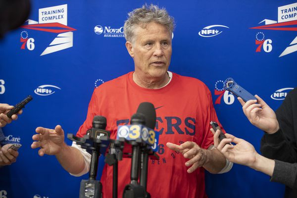 Brett Brown and the Sixers might reach the finish line together this season | Bob Ford