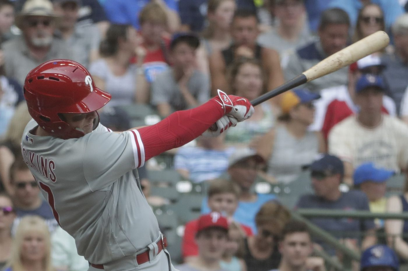 A refreshed Rhys Hoskins is finding success again after returning to Phillies lineup
