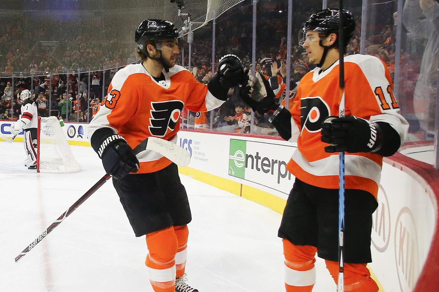 Soaring Flyers take winning streak to Detroit