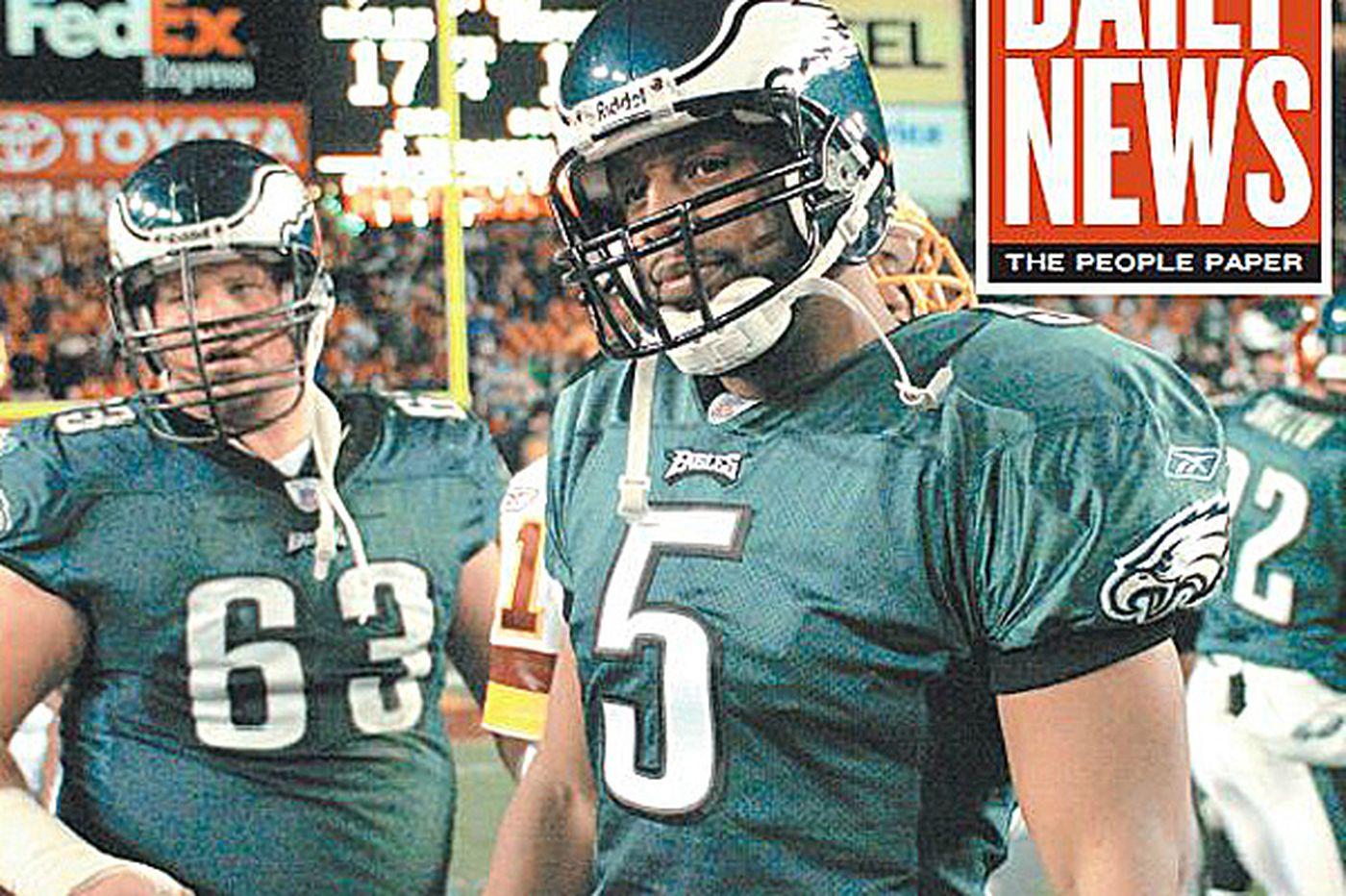 Eagles' 2004 season: Win over Redskins hurt so bad