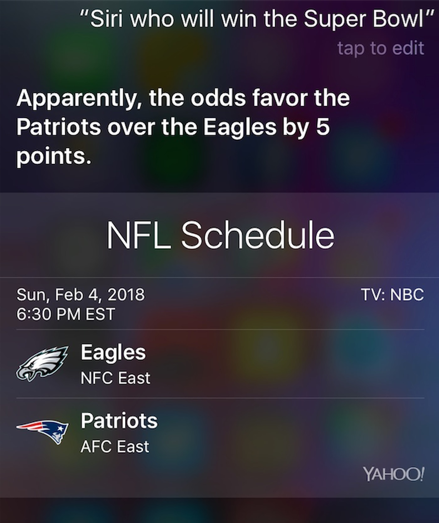 Amazon s Alexa jabs Patriots when asked who will win the Super Bowl 820a5468b