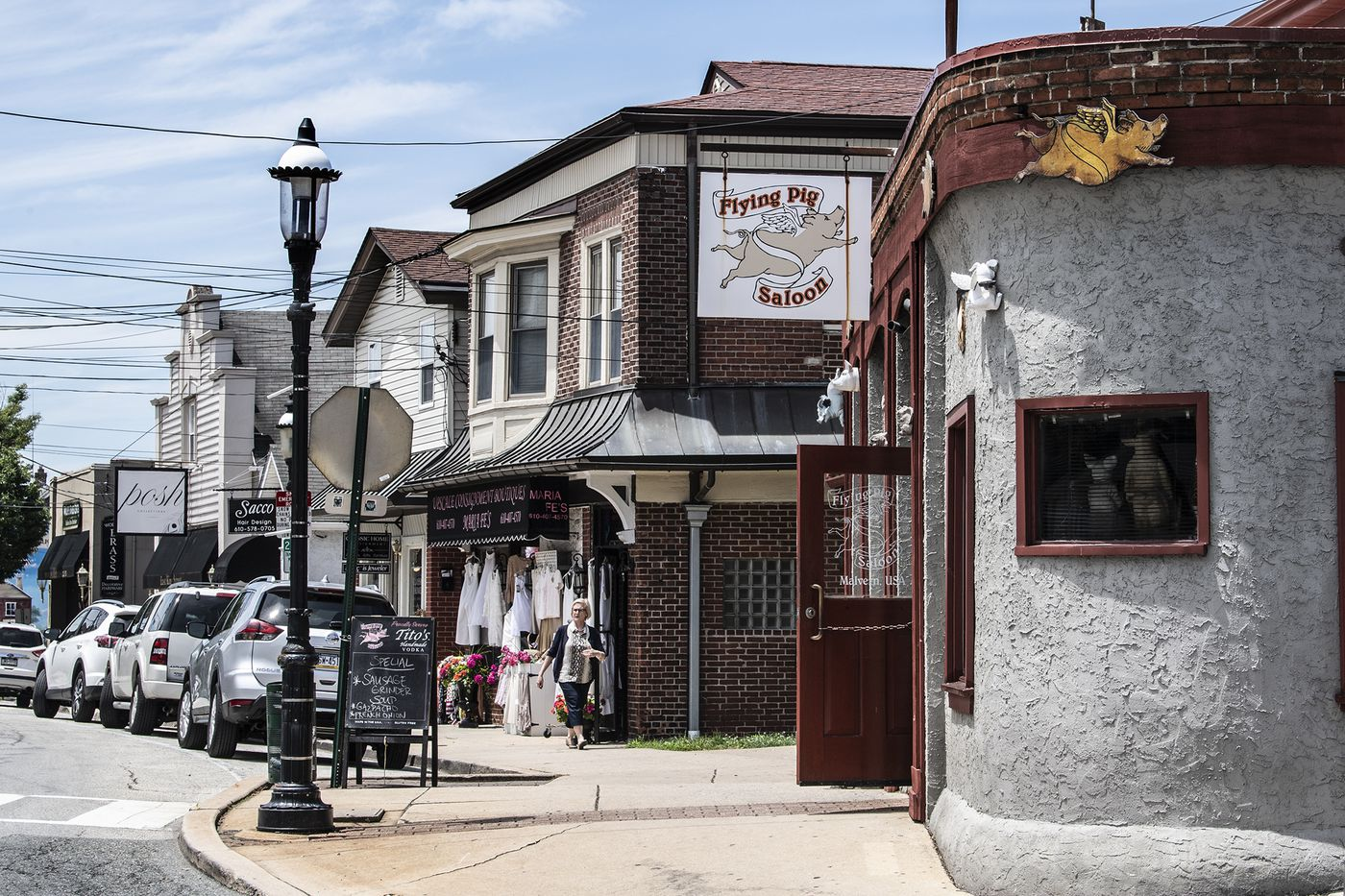Owner Steve Iacobucci says the Flying Pig Saloon hasn't changed much over the years, though the town around it has.