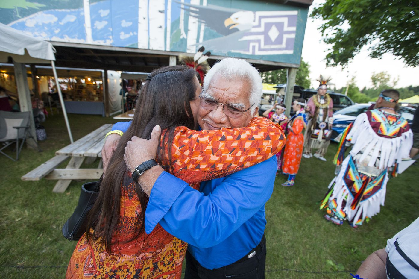 The bodies of three young Native American girls are returned to the Oneida Reservation. And a community heals.