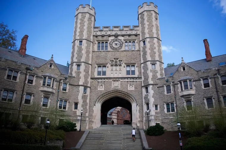 The campus of Princeton University in New Jersey last month.
