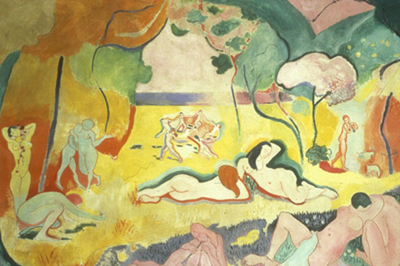 Classic Matisse painting at the Barnes Foundation has faded but help is on the way