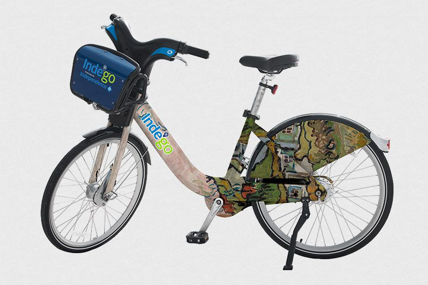 Barnes Foundation teams with Indego to put great works of art on Philly bikes