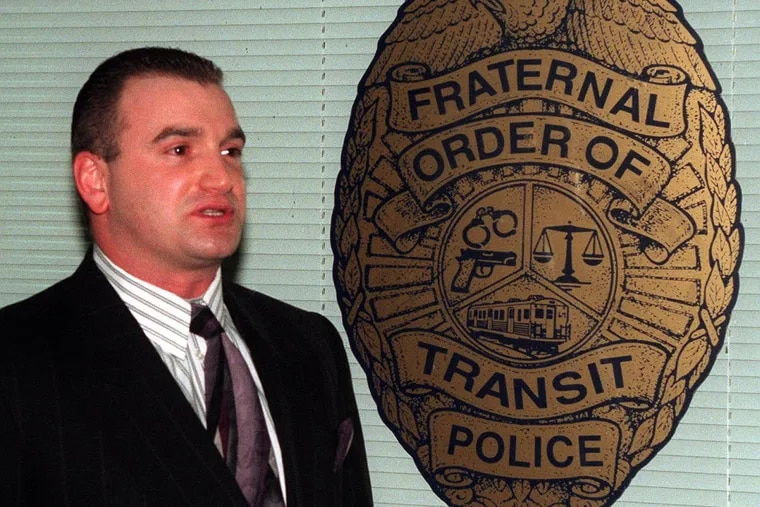File photo shows Phil Nordo when he was president of the Fraternal Order of Transit Police.