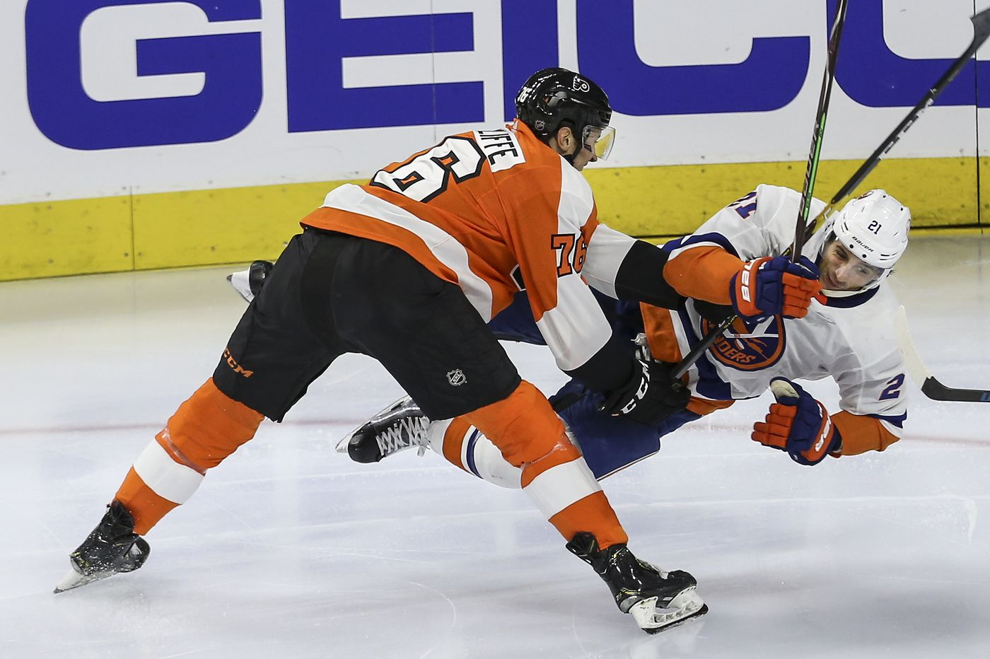 A look at Flyers' top prospects, some with the big team, some getting closer