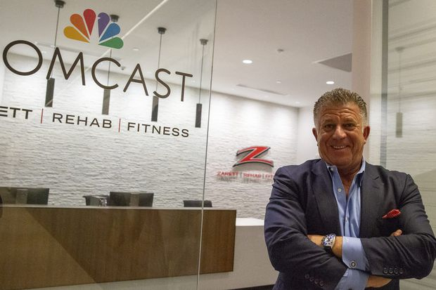 Philly rehab guru Joe Zarett takes his hands-on physical therapy to Comcast HQ