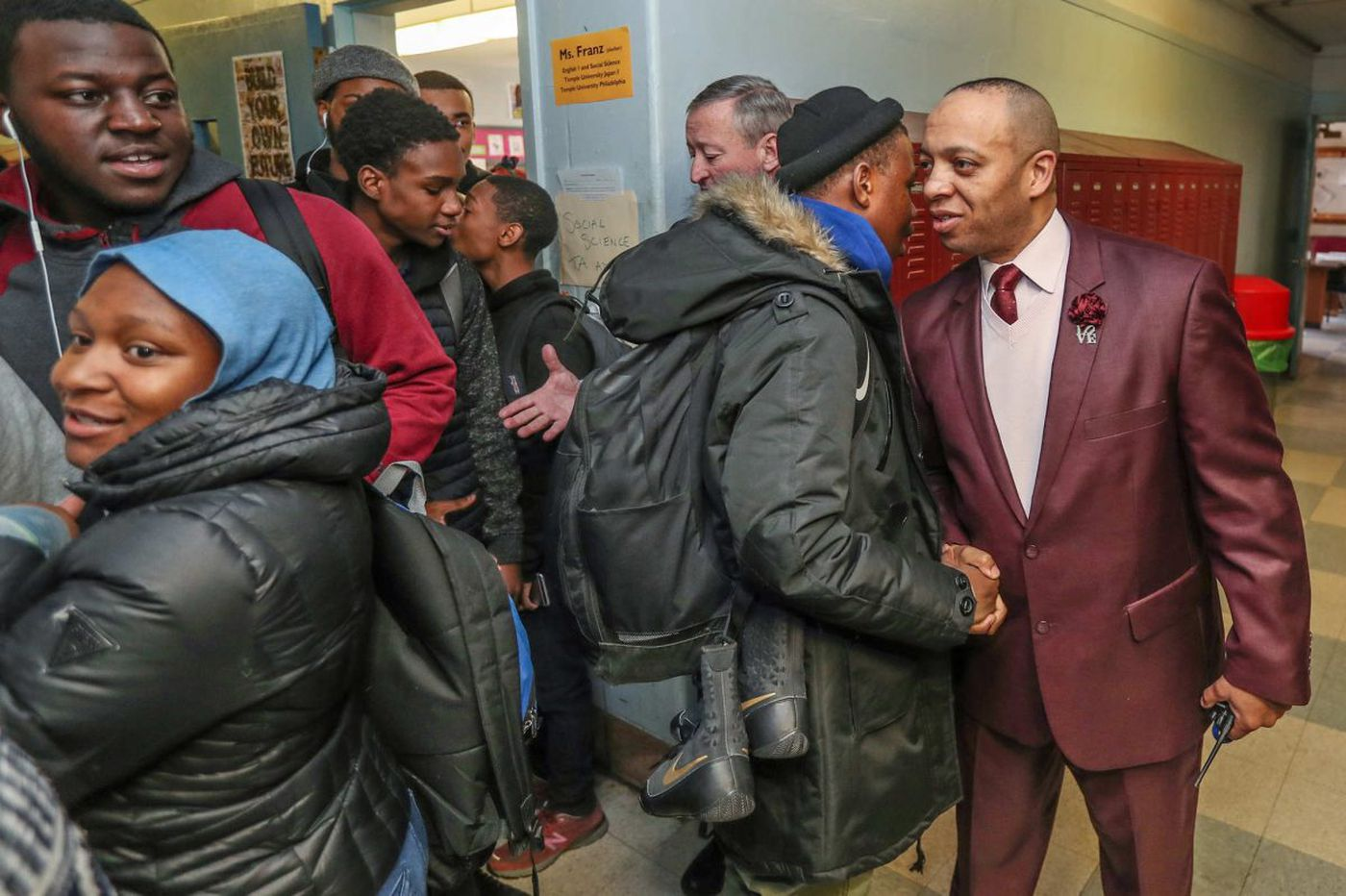 Philly's Robeson High, a school on the rise, now in national spotlight