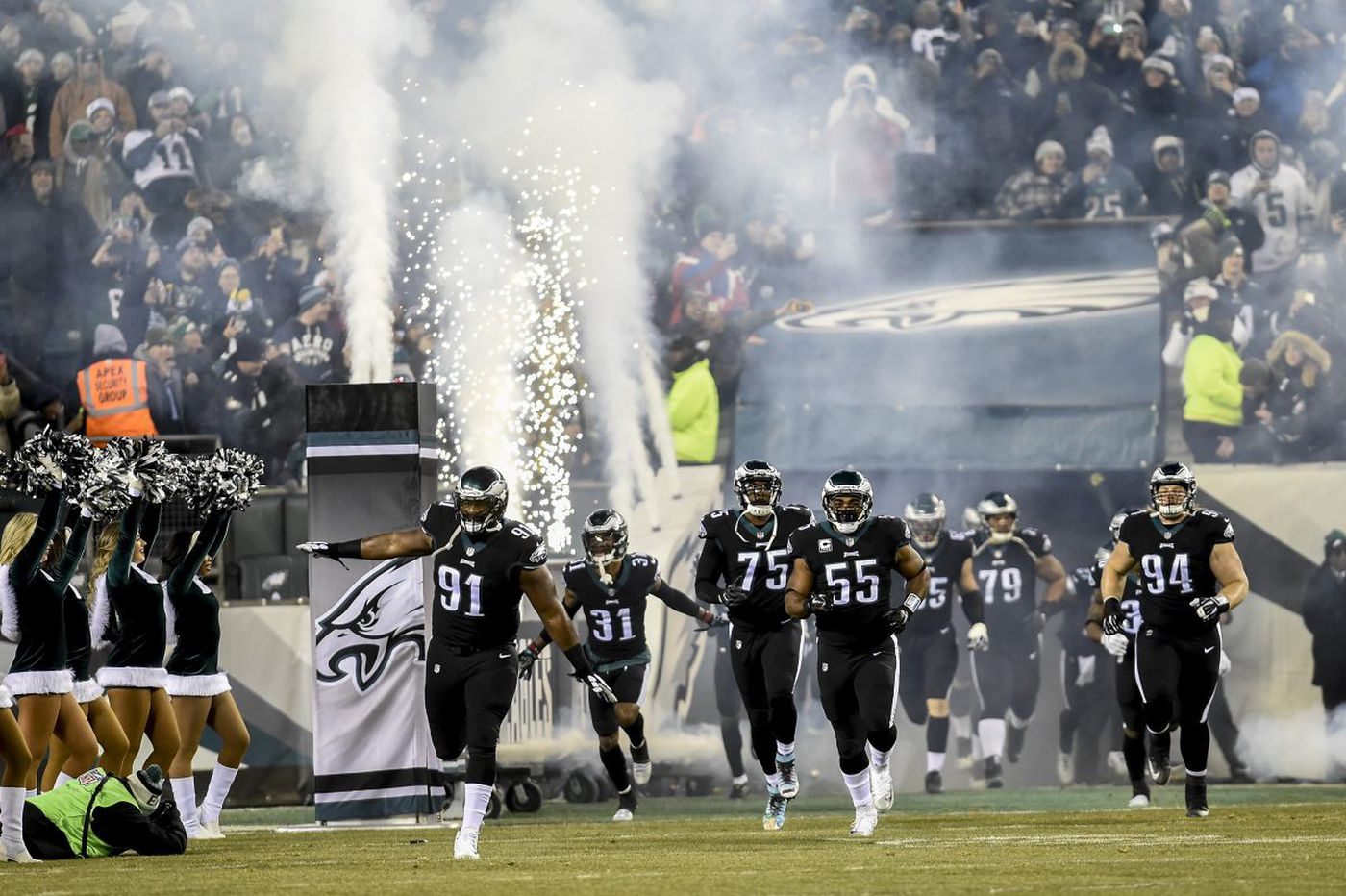 The Eagles defense is scorching. The Vikings have the NFL's No. 1 defense. Expect a slugfest Sunday