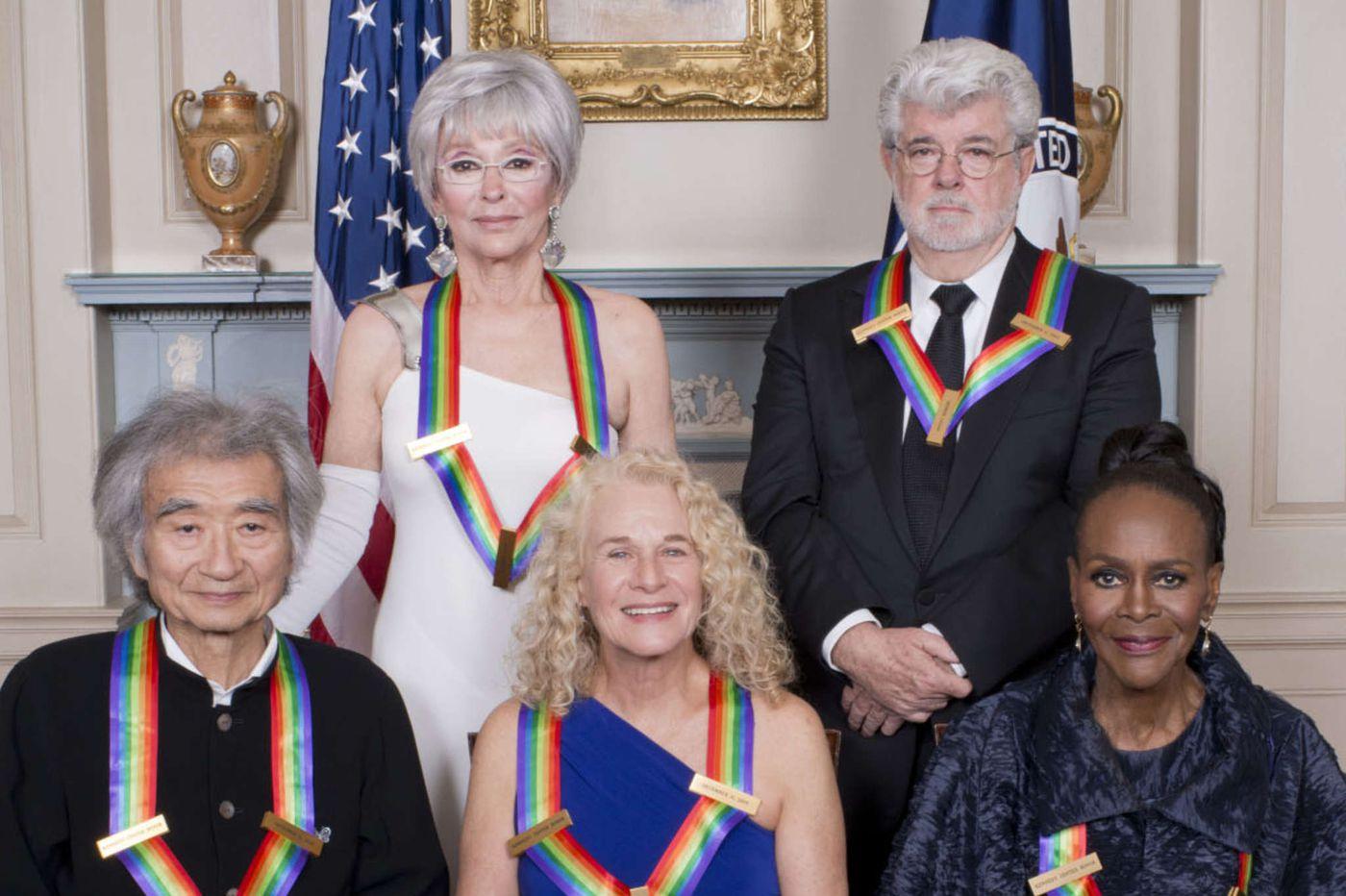 Kennedy Center Honors show on CBS: Duty-bound, but still needing a jolt