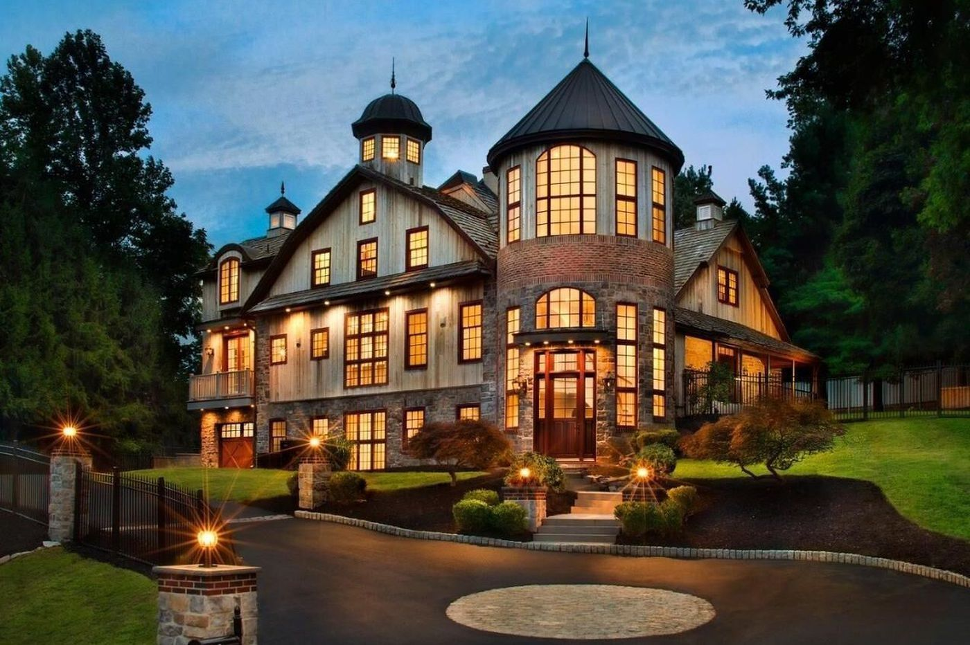Once a barn, now a luxury home in Montgomery County, Pa.