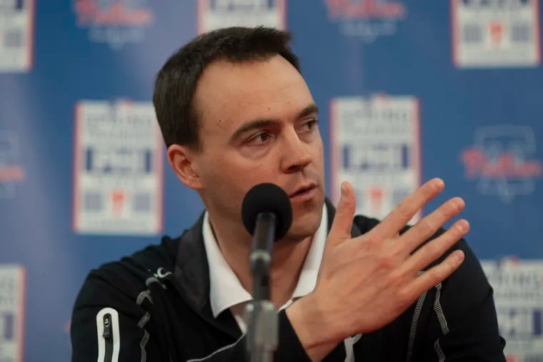 """The Phillies, general manager Matt Klentak said, have """"not been bored this offseason."""""""