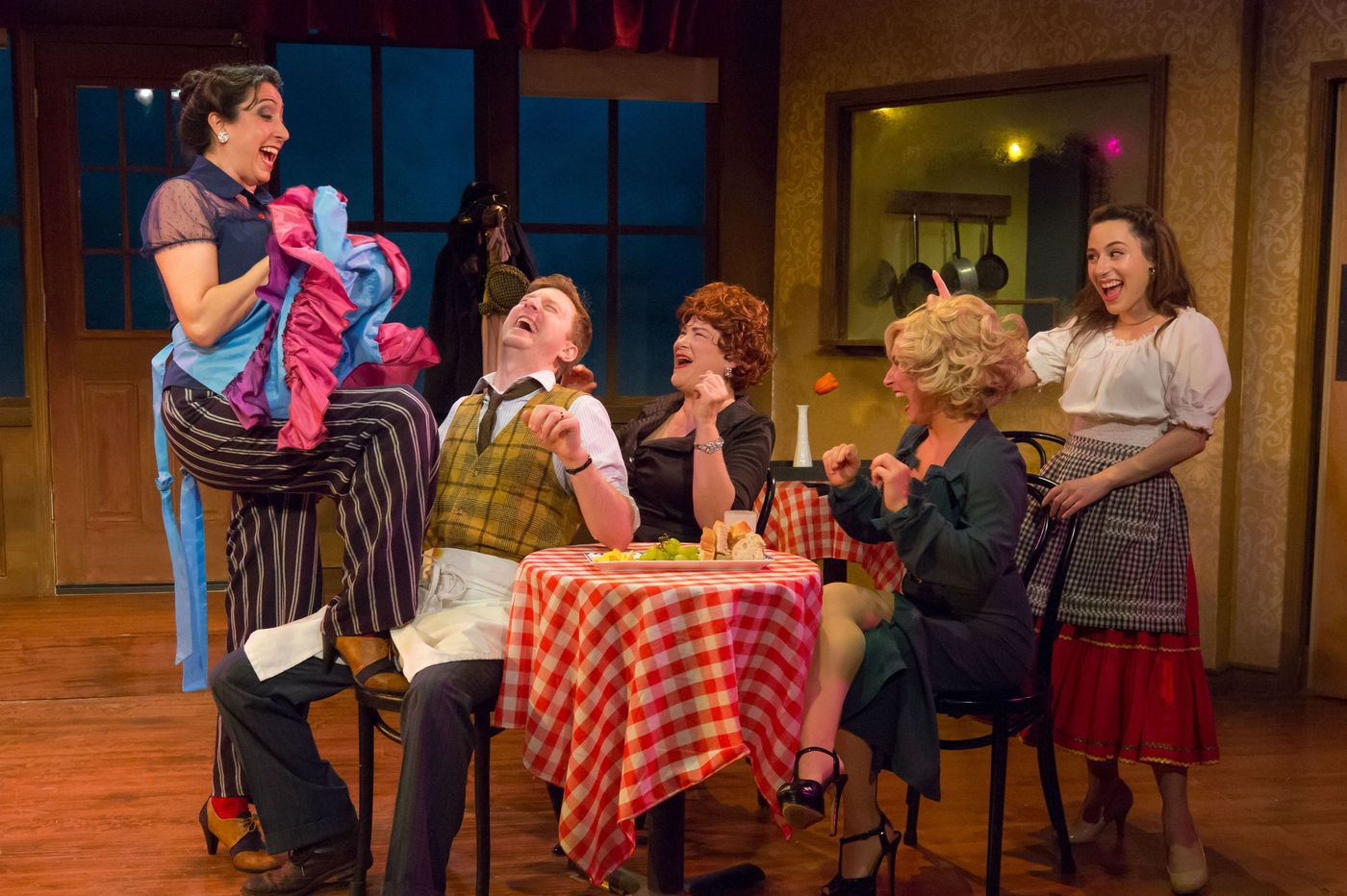 'Cafe Puttanesca' at Act II: Not exactly an exciting dish