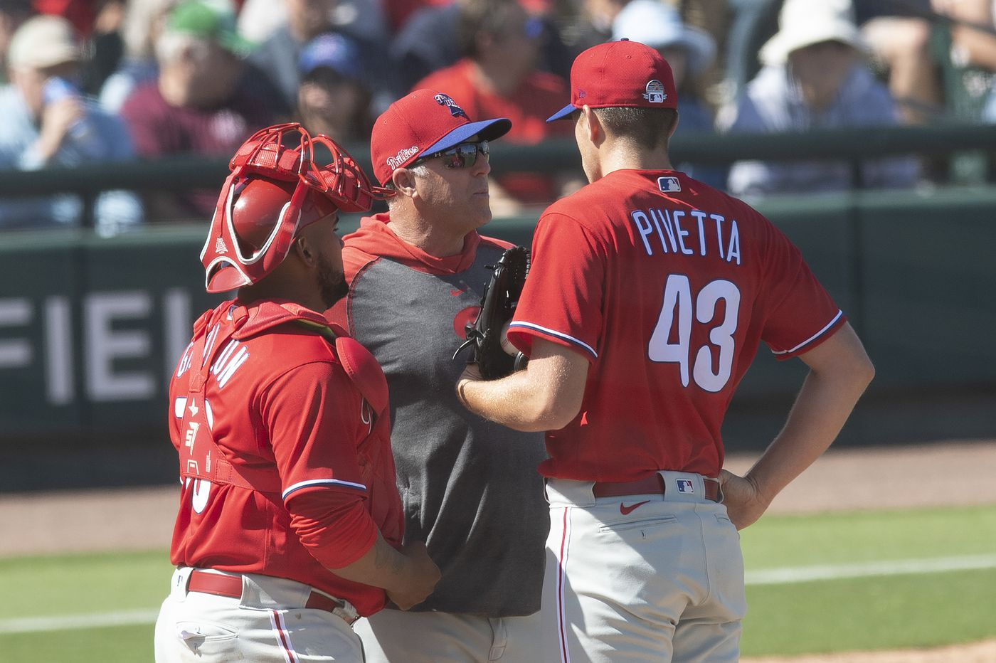 Phillies' Nick Pivetta brings improved changeup to competition for team's fifth starter