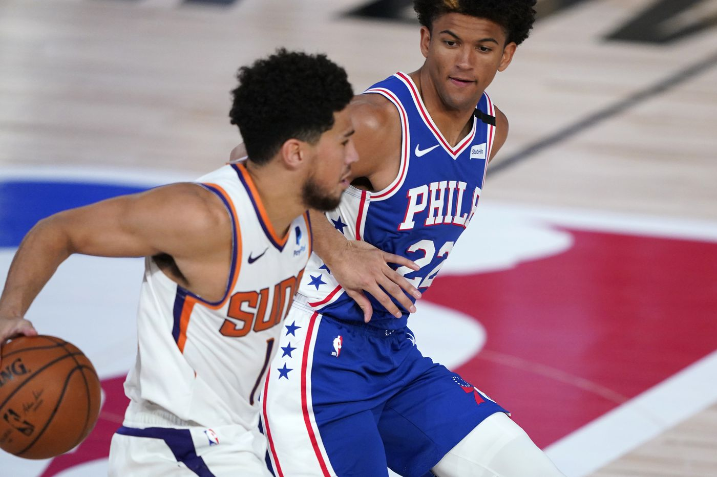 Observations from Sixers-Suns: Thybulle's defense on Devin Booker, Alec Burks' explosion, Kyle O'Quinn's presence
