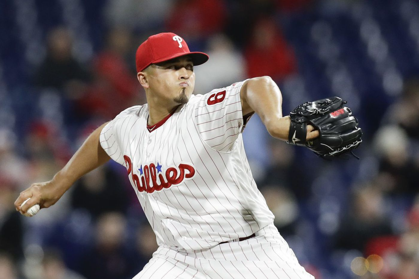 Phillies place reliever Victor Arano on the DL