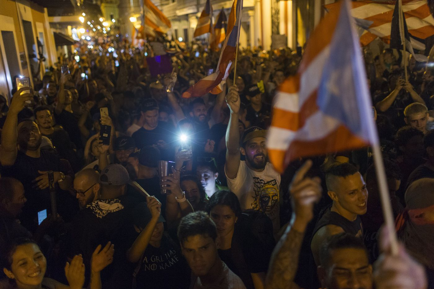 In Puerto Rico, taking it to the streets takes down a leader. Why can't that happen here? | Will Bunch