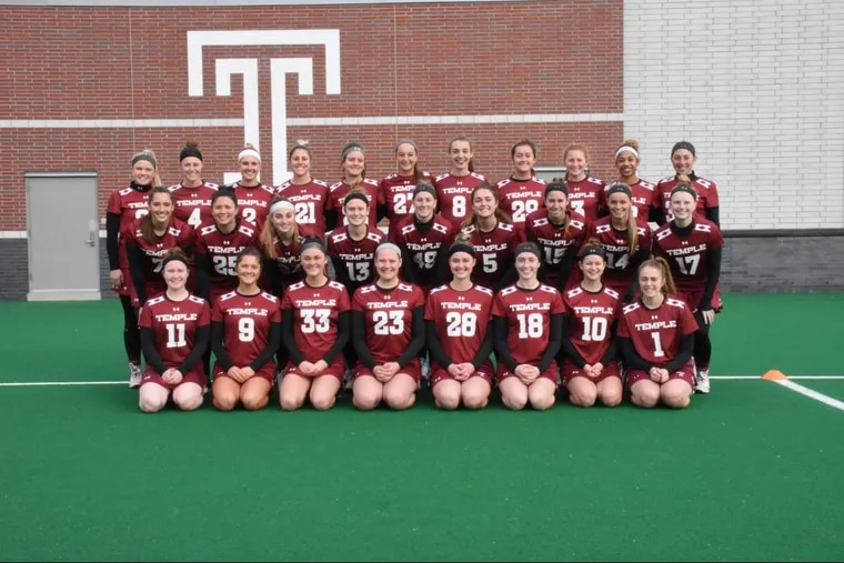 Temple's women's lacrosse team was among three teams at the school with a perfect 100 percent graduation success rate.