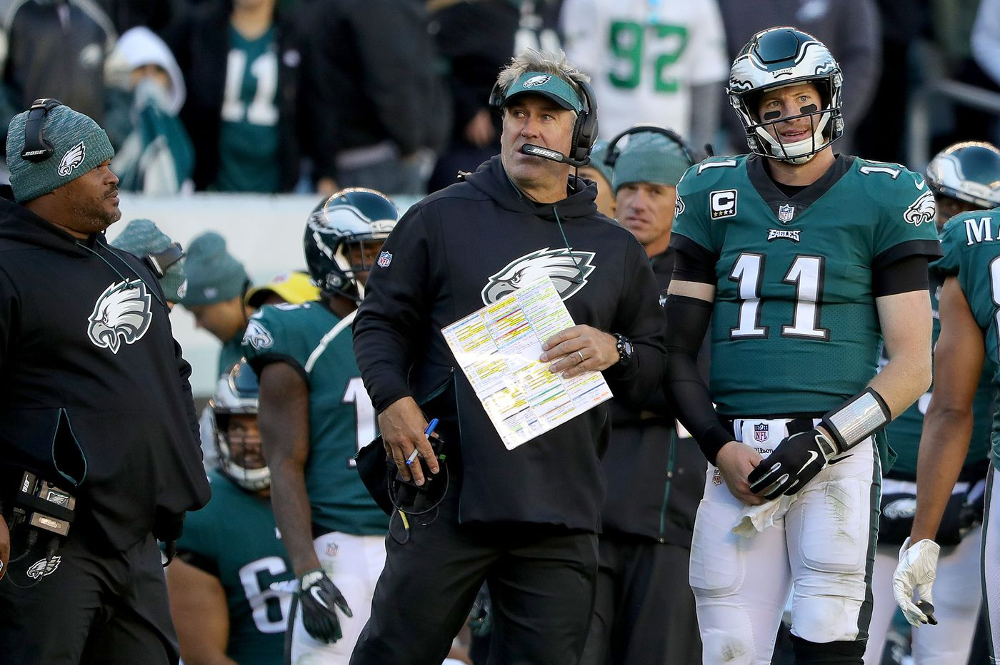 Ten things we learned from the Eagles' loss to the Panthers   Jeff McLane