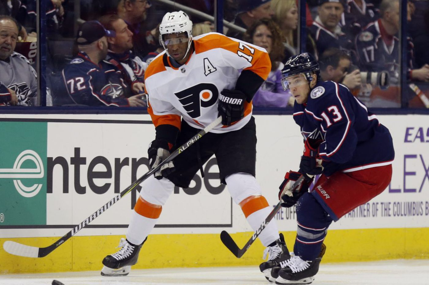 Flyers' Wayne Simmonds to miss 2-3 weeks; Alex Lyon gets start