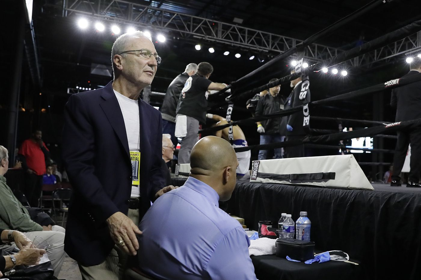 J Russell Peltz is honored for 50 years as a boxing promoter
