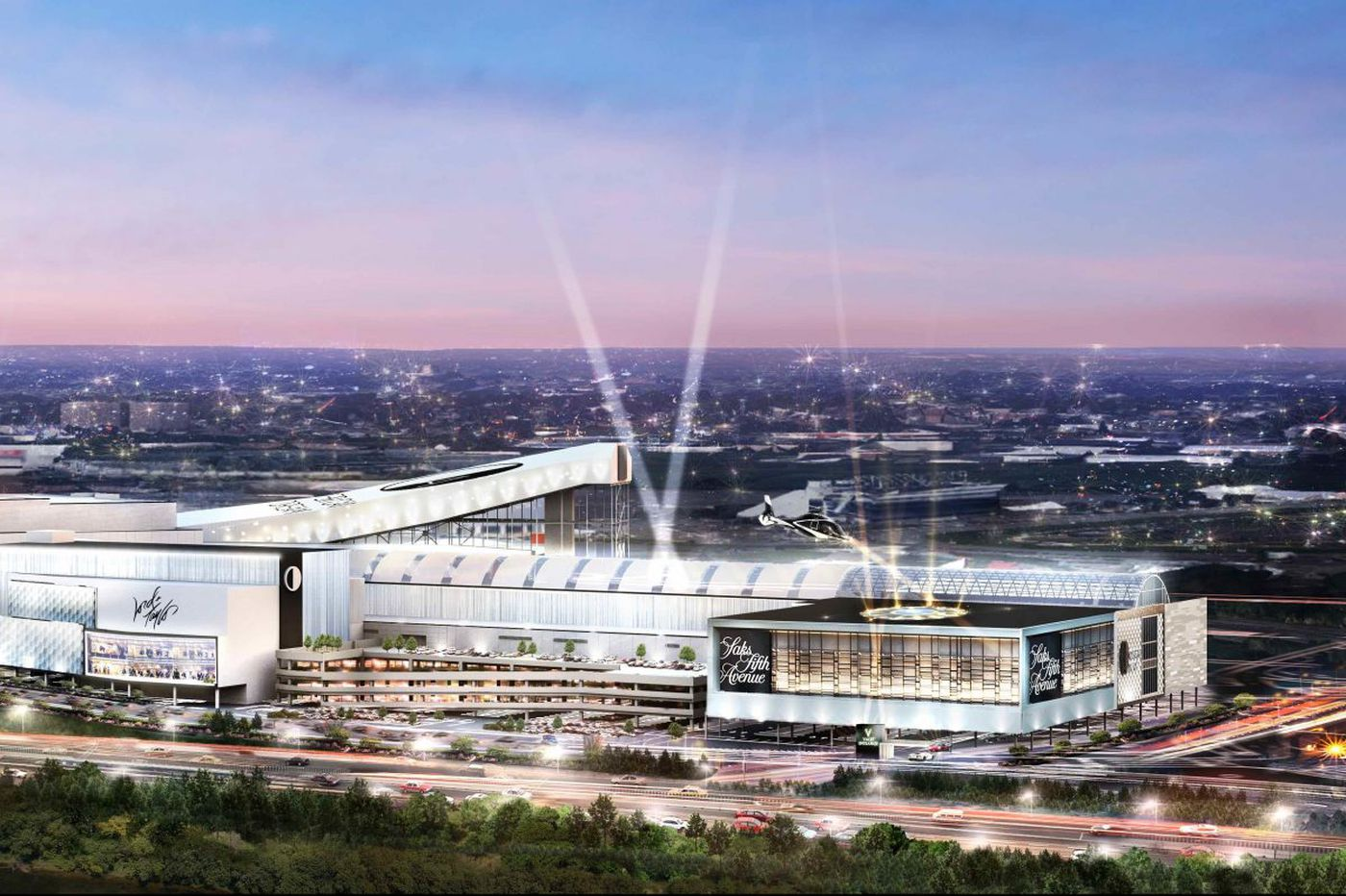 The mall's future rises in the Meadowlands: It's about entertainment