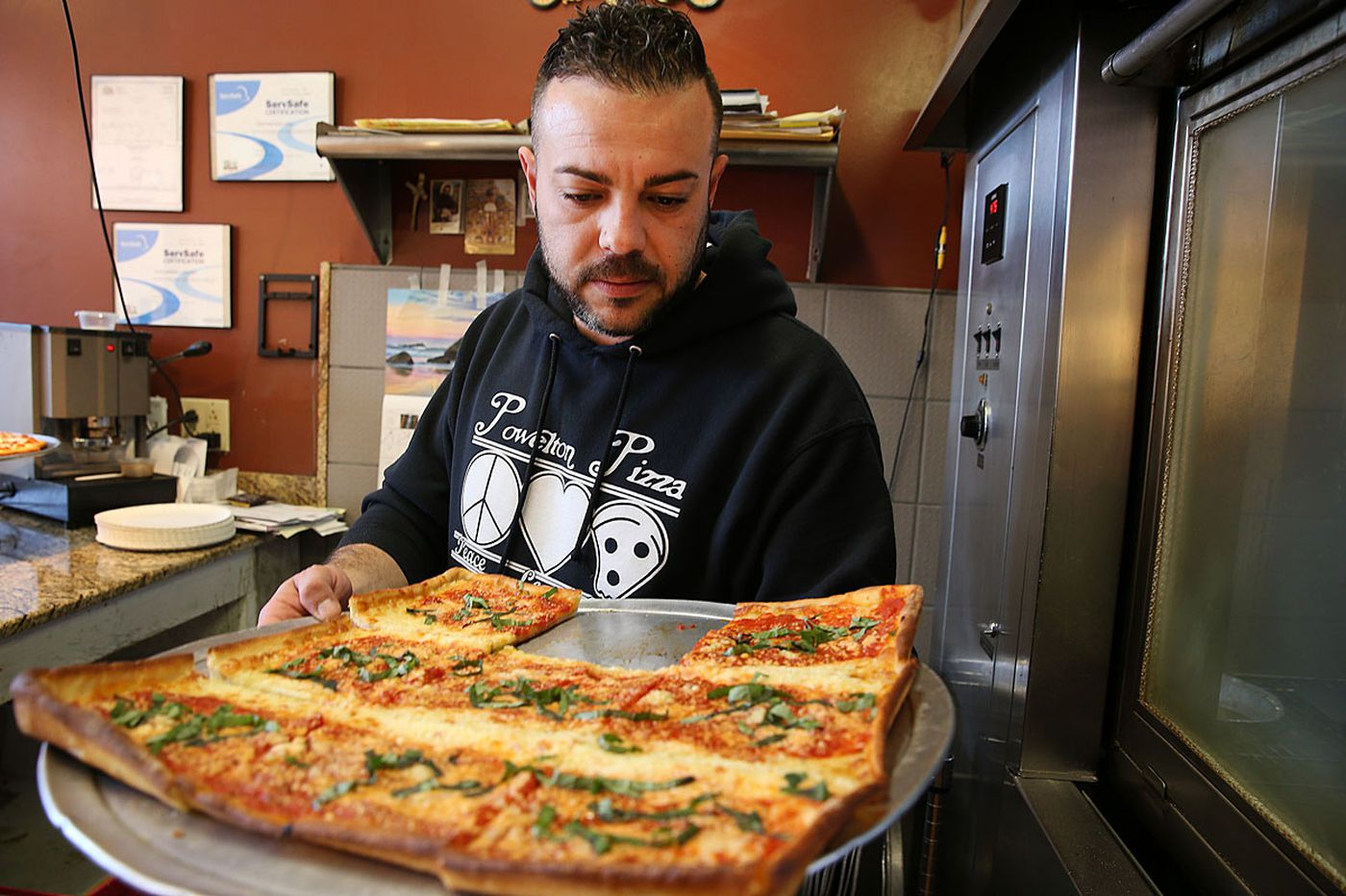 A pizza shop, a horrible crime, and a case of mistaken identity